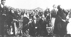 Virgin Mary appearance in Fatima, Portugal in 1917